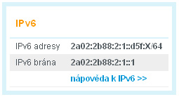IPv6 na Wedosu